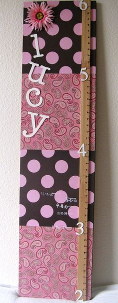 cute idea for measurement boards. but mine would be boy of course.
