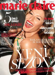 MARIE CLAIRE Turkey February 2014: Gisele Bundchen