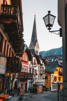 Streets of Salzburg, Austria Places Around The World, Travel Around The World, Around The Worlds, Magic Places, Places To Visit, Places Worth Visiting, Hallstatt, Reisen In Europa, Austria Travel