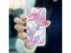 #Lovely Butterfly #Crystal iPhone Case