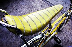 Lowrider Bicycle Purple 5 Button Tucked Banana Seat Chopper Cruiser Bike SWEET
