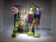 """NORDSTROM,Michigan Ave. Chicago,USA, """"If we had no winter the spring would not be so pleasant"""", pinned by Ton van der Veer"""
