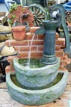 井戸 の ある 庭