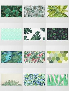 Society6 Green Rugs - Available in three different sizes, our Rugs are the perfect accent for any room.