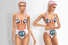 Sims 4 CC's - The Best: Underwear by alecseycool