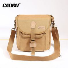 73a7b422540a high quality canvas digital sling vintage SLR camera shoulder bag Camera  Bag Backpack