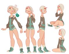 jmadorran:  Character Design - Echo I spent to much time on this..working on coloring Echo…I kept getting distracting watching the Mythbusters marathon on tv right now. So productive today…not ;P