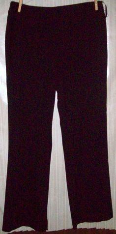 Ladies Size 8 Black Dress Pants By Gap #Gap #DressPants