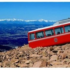 Scenic Train Rides: No. 1 ~ Pikes Peak Cog Railroad Manitou Springs, Colorado. The cog railway ride carries guests through 4 distinct bio-zones ~ from high plains to alpine tundra & is so spectacular it inspired Katherine Lee Bates to pen the lyrics to  America the Beautiful.  Your Peak experience includes views of 2000 year old bristlecone pine & likely big horn sheep & yellow-bellied marmots. From the 14,115 ft summit, see downtown Denver skyscrapers and, on a clear day, 4 states are…