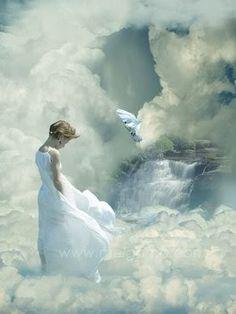 Heavenly White Angel