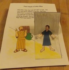 Paul Pop-up Book | Bible Songs And More