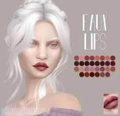 DFJ TS4   Faux Lips