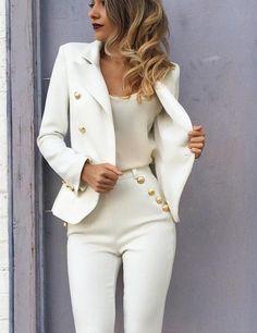 Coat Elegant Slim Blazer