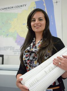 County hires first female engineer Paolina Vega