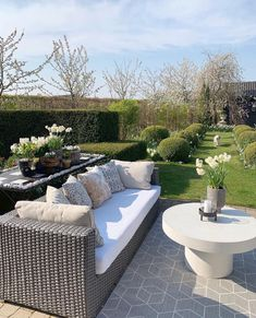 Outdoor Sectional, Sectional Sofa, Outdoor Furniture, Outdoor Decor, Spring Time, Garden, Happy Friday, Porches, Instagram