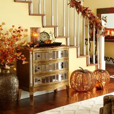 Talk about a warm welcome - Pier1 US  I love this look for fall.
