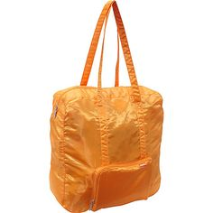 #LightweightPackableExpandableBags, #TravelAccessories - baggallini Medium Zip-Out Travel Bagg Orange - baggallini Lightweight packable expandable bags