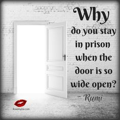Why do you stay in prison when the door is so wide open? - I Love My LSI