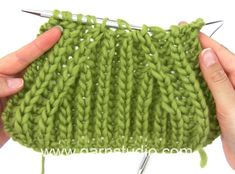 DROPS Knitting Tutorial: How to work english rib and raglan shaping