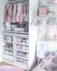 28 Trendy Ideas for baby girl room closet Baby Nursery Closet, Baby Bedroom, Baby Room Decor, Room Baby, Playroom Decor, Little Girl Closet, Kid Closet, Baby Girl Closet, Closet Ideas