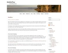A nice and subtle theme that helps your reader focus on your content, not the surrounding elements.  Version : 1.0.3