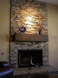 country ledge stone fireplace i like this. contemporary design white bioethanol fireplace 7 by stones. find this pin and more on favorite places spaces natural stone fireplace . the anatomy of a fireplace: flues, chimneys and more. Stone Veneer Fireplace, Stone Fireplace Designs, Stone Fireplace Surround, Stacked Stone Fireplaces, Fireplace Facade, Rock Fireplaces, Home Fireplace, Fireplace Remodel, Modern Fireplace