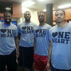 @kentbazemore20: Proud to support @Channing_Frye & #HeartAwareness. #OneHeart