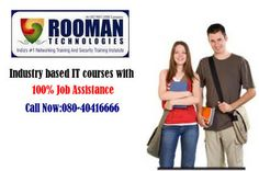 Rooman provides best #training in #IT sector. rooman provide #courses on vocational,corporate and academic .we provide 100% #placement for trainees. visit: http://rooman.net/