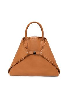 Ai Medium Top-Handle Braided Shoulder Bag