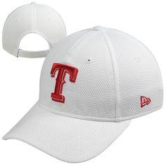 New Era Texas Rangers Ladies Tech Essential Adjustable Hat - White Texas  Rangers Hat 7b635fada