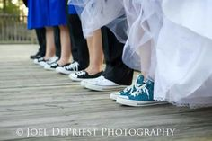 Loved wearing my converses on my wedding day