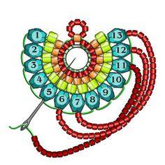 Materials: Miyuki Triangle Matte Silverlined Cobalt - 1 tube T Seed Bead Jewelry, Bead Jewellery, Seed Bead Earrings, Bali Jewelry, Beading Jewelry, Seed Beads, Jewelry Box, Vintage Jewelry, Hoop Earrings