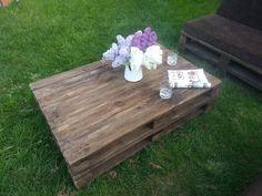 Tisch Gartenmöbel Bereich Palettenmöbel von Holz Majster auf DaWanda.com