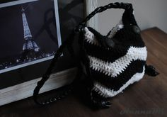 Virkattu laukku (crocheted bag) Sewing, Knitting, Crochet, Blog, Diy, Fashion, Moda, Dressmaking, Couture
