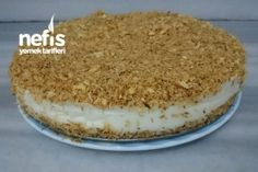 Kadayıflı Muhallebi Tarifi Turkish Sweets, Easy Cake Recipes, Tiramisu, Deserts, Food And Drink, Cooking, Simple, Ethnic Recipes, Pikachu