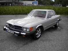 Mercedes-Benz SL 450 SLC  1977, 168000 km, kr 69500,- - Gikk tidligere for 49.000,-http://www.pinterest.com/pin/112027109453644119/
