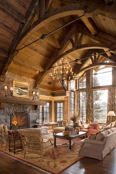 This stunning mountain retreat was designed by Locati Architects and built by Schlauch Bottcher Construction, located in Big Sky, Montana.