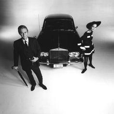 Steve McQueen and his 1967 Rolls Royce (Thomas Crown Affair)