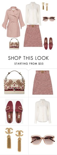 """бордо"" by messagekrd on Polyvore featuring мода, Gucci, Bally, Chloé, Witchery и SEVENTY"