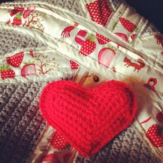 crochet hearts and blankets