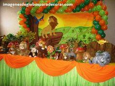 decorar fiesta infantil con globos decorar