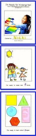 """Start the new school year with this book that gives your children a chance to become familiar with their new classroom. Each child makes a copy to take home and """"read."""" Adapted from Miss Bindergarten Gets Ready for Kindergarten by Joseph Slate, this book introduces the children to beginning consonant sounds and rhyming.   ($)"""