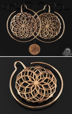 18K rose gold plated Daydreamer. These are so pretty but they look like they would hurt to wear.