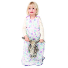 ready for bed, 3 year old in moon cocoon floral. www.niniandpumpkin.com