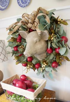 Apple Wreath Update