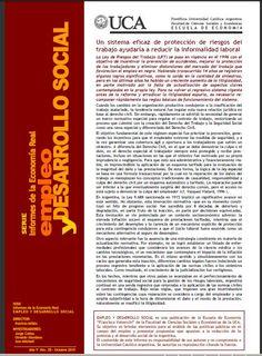 Facultad de Ciencias Económicas | Escuela de Economía de la UCA. Informes y estudios