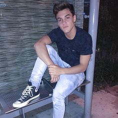 Hey I'm Grayson. I am 19 and Ethan's my twin bro. I want to be a pro basketball player. I'm super weird when you get to know me, but intro?