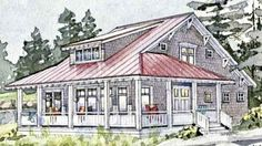 Barrier Island Getaway - Coastal Living | Southern Living House Plans
