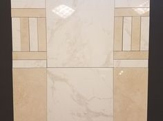 This is a hot new look!! Themar Vento Gold Polished 24x24 & 3x12 with Themar Crema Marfil Polished 12x24 & 3x12. You can design your own orignal look. #marbletile #orignallook #flooring https://www.arizonatile.com/en/products/porcelain-and-ceramic/themar