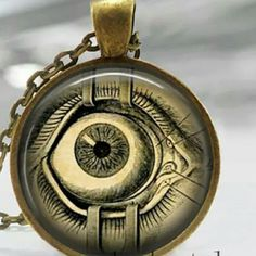New monster jeepers creepers eye necklace New monster eye necklace Jewelry Necklaces
